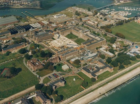 Haslar Hospital site
